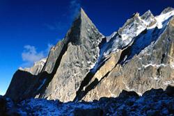 Charakusa Rock Climbing